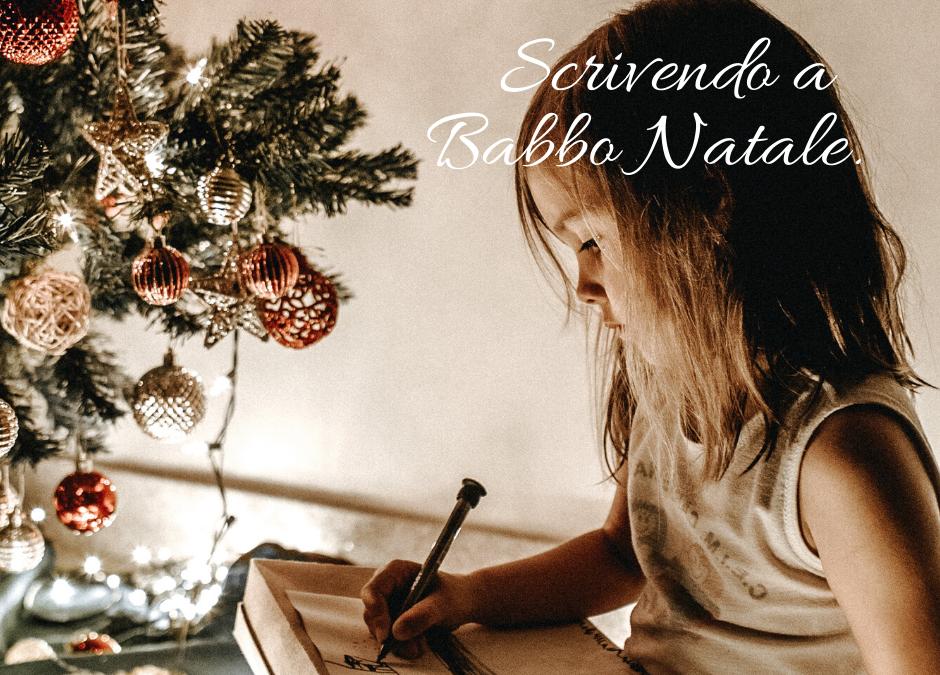 La lettera dei desideri a Babbo Natale